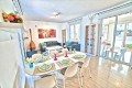 Open plan living room/ dining area